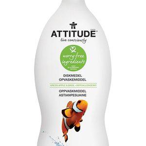 Diskmedel Green Apple & Basil 700ml – Attitude