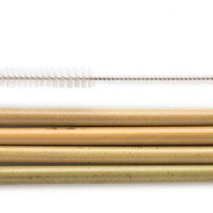 Sugrör bambu 4st, plus rensare – Humble Brush