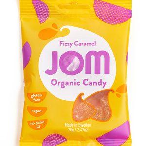 Fizzy Caramel 70g – Jom Organic
