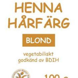 Hårfärg henna blond 100g – MacUrth