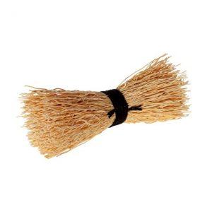 Disktvaga enkel risrot, svart – Iris Hantverk